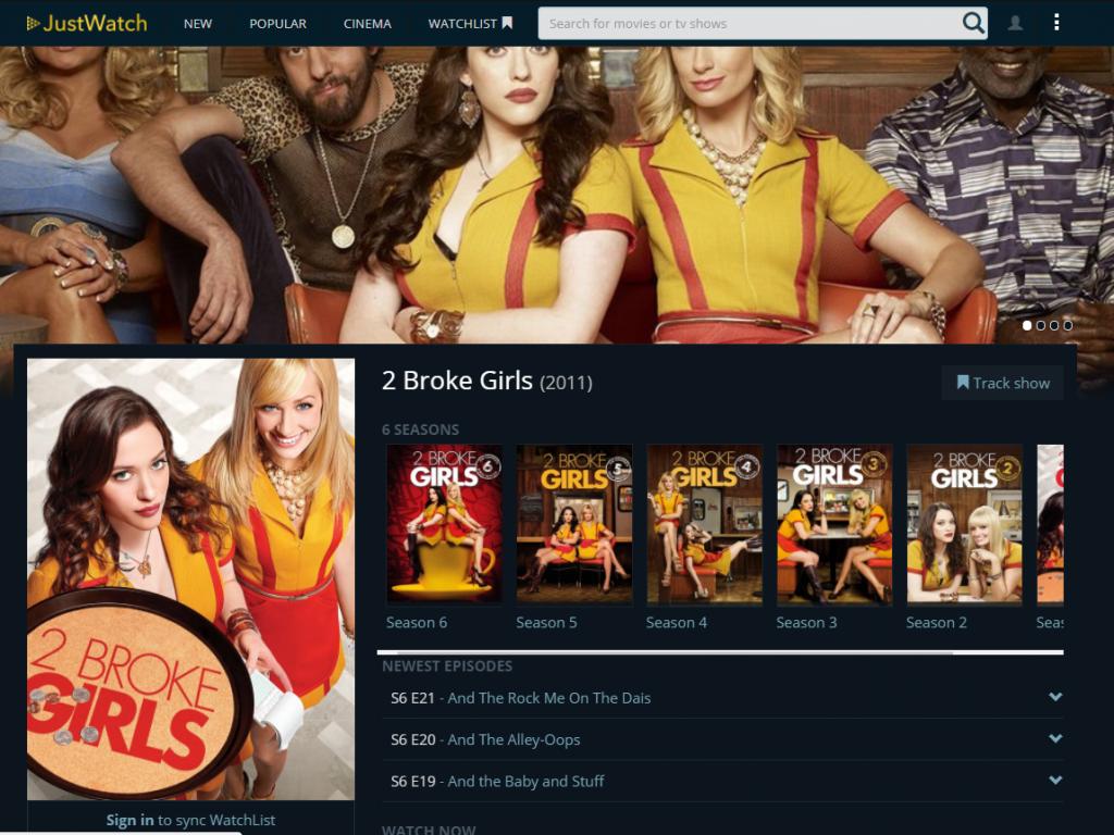 justwatch-two-broke-girls-streaming